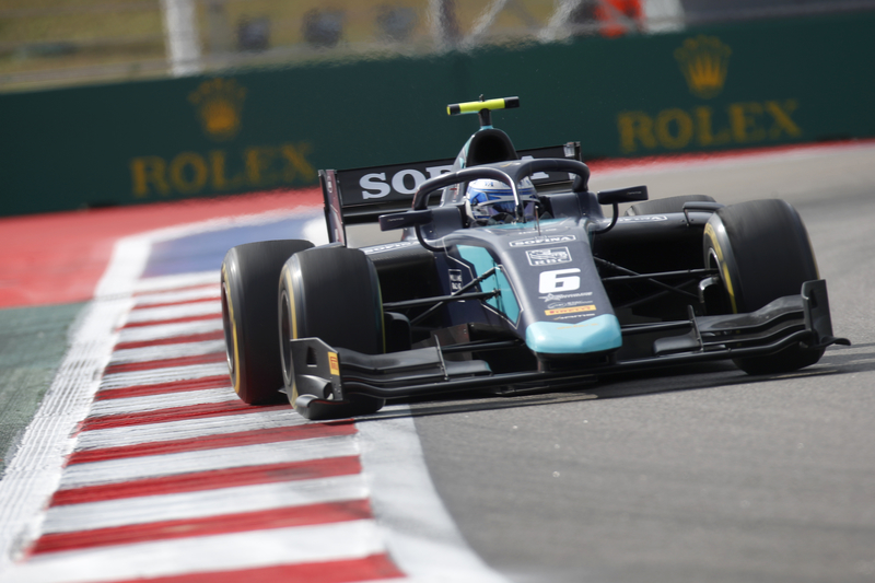Nicholas Latifi - DAMS in the 2019 FIA Formula 2 Championship - Sochi Autodrom - Practice