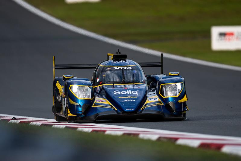 38 JOTA Sport on track at Fuji Speedway, 2019