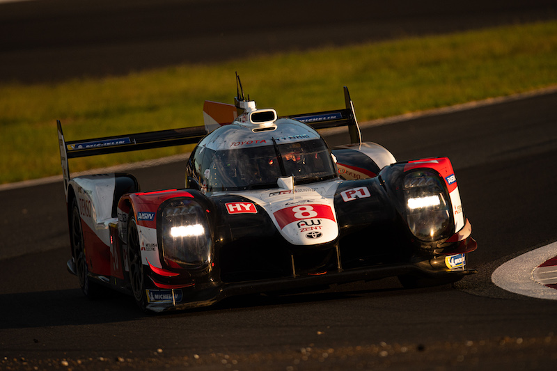 #8 Toyota Gazoo Racing on track at Fuji Speedway, WEC 2019
