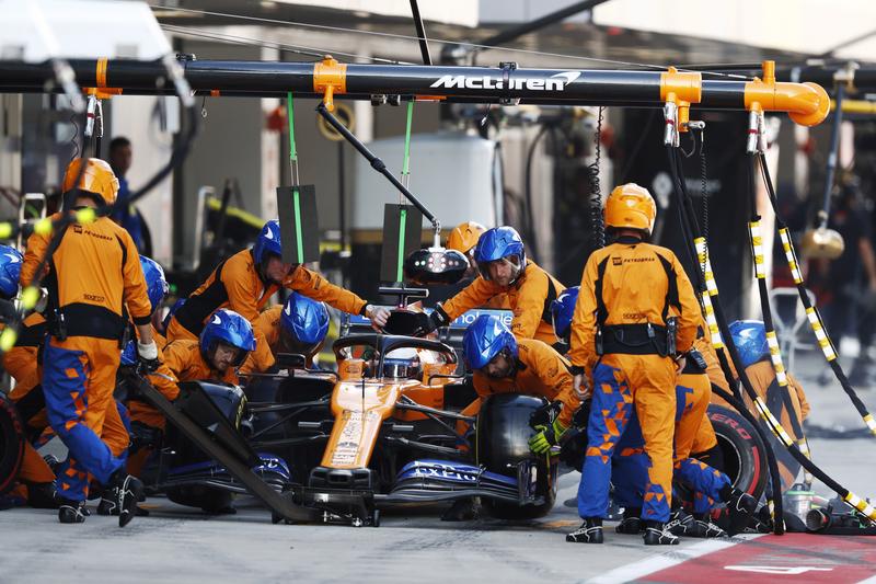 Carlos Sainz Jr. - McLaren F1 Team in the 2019 Formula 1 Russian Grand Prix - Sochi Autodrom - Race