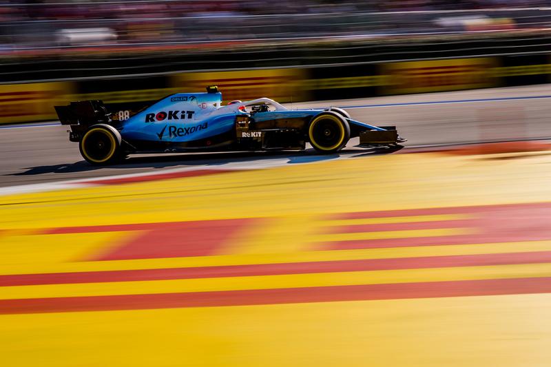 Robert Kubica - ROKiT Williams Racing in the 2019 Formula 1 Russian Grand Prix - Sochi Autodrom - Race