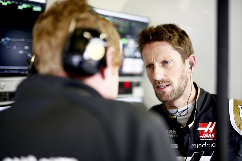 Romain Grosjean - Formula 1 - 2019 Mexico GP