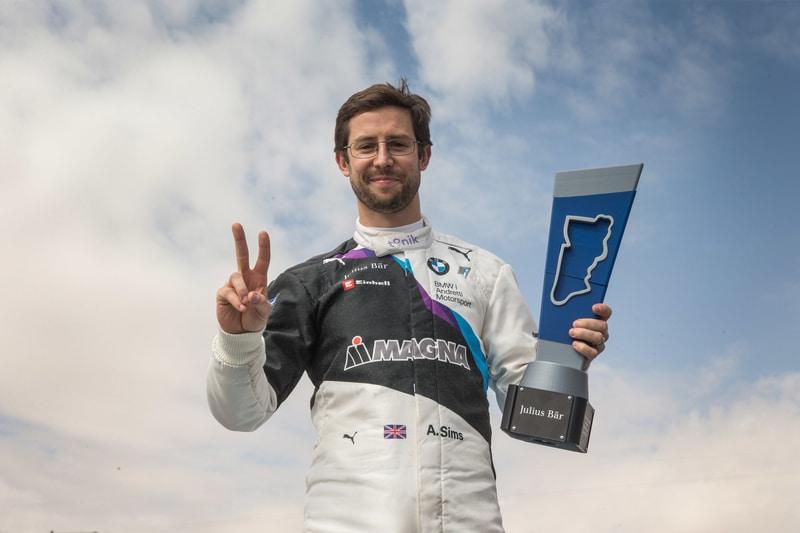 Alexander Sims wins Diriyah ePrix