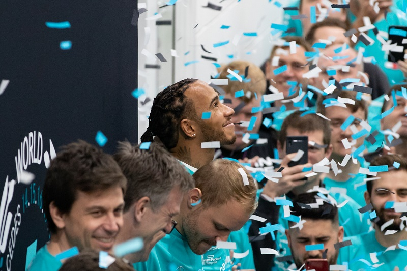 """Lewis Hamilton on Mercedes' Efforts: """"I can't thank you enough for everything that you've done"""""""