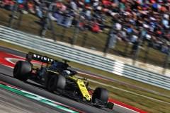 Daniel Ricciardo - Renault F1 Team in the 2019 Formula 1 United States Grand Prix - Circuit of the Americas - Race