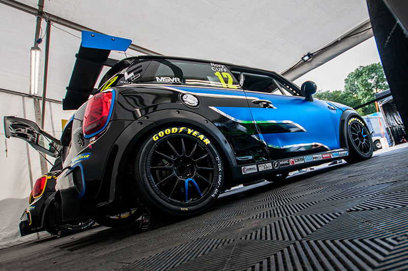 MINI Challenge switches to Goodyear tyres ahead of TOCA debut