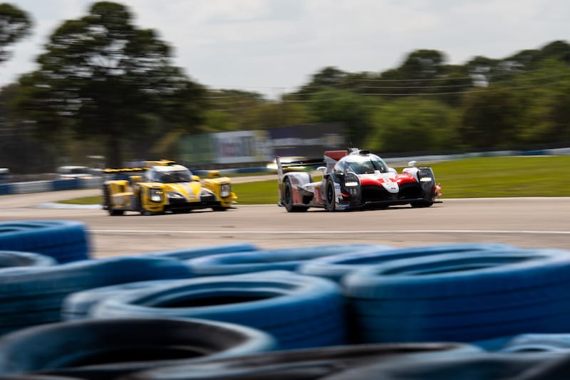 Toyota GAZOO Racing and Racing Team Nederland on track at Sebring