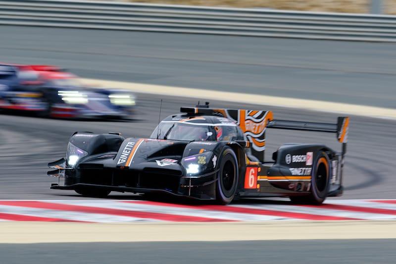 #6 Ginetta Team LNT racing at Bahrain International Circuit