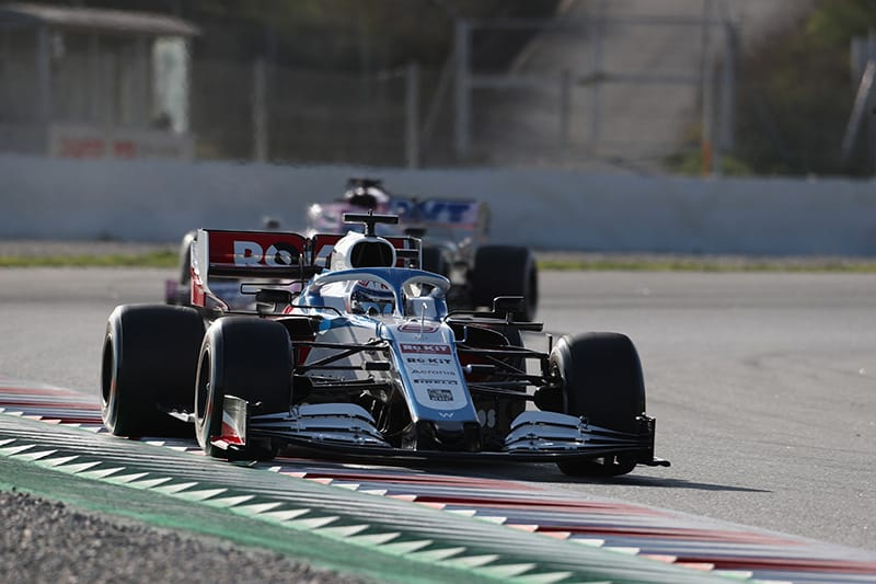 Nicholas Latifi - Williams Racing - Formula 1