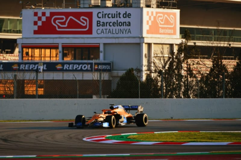 """The car already feels a step on from last year"" - Carlos Sainz - The Checkered Flag"