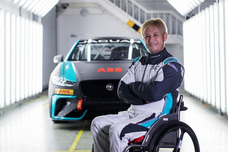 Paralysed Ex-World Superbike racer Aoki joins Jaguar I-Pace eTrophy in Mexico City - The Checkered Flag