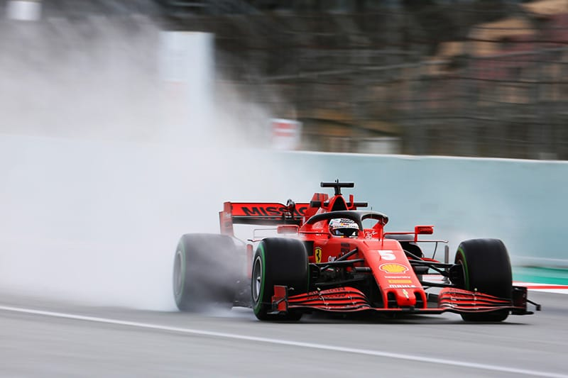 Sebastian Vettel - Scuderia Ferrari - F1 2020