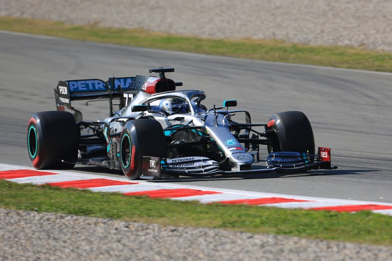 Mercedes looking good after securing top two times in final day of testing - The Checkered Flag