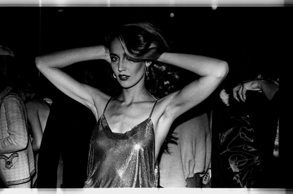 Jerry Hall at Studio 54