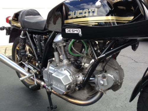 1978 Ducati 900SS Cafe Corsa R Engine Detail