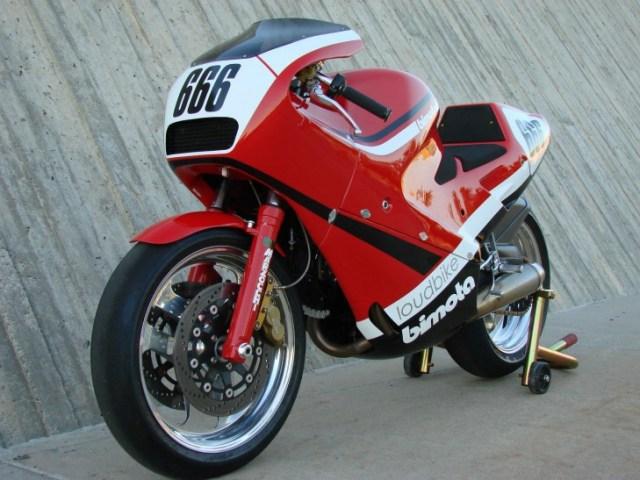 1986 Bimota DB1 Track Bike L Front