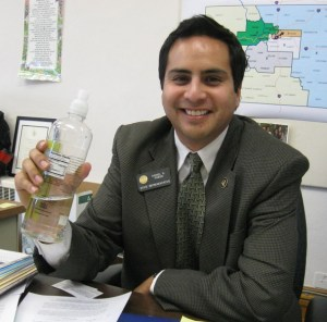 Rep. Dan Pabon 's bottle bill died last week. (Lynn Bartels/The Denver ...