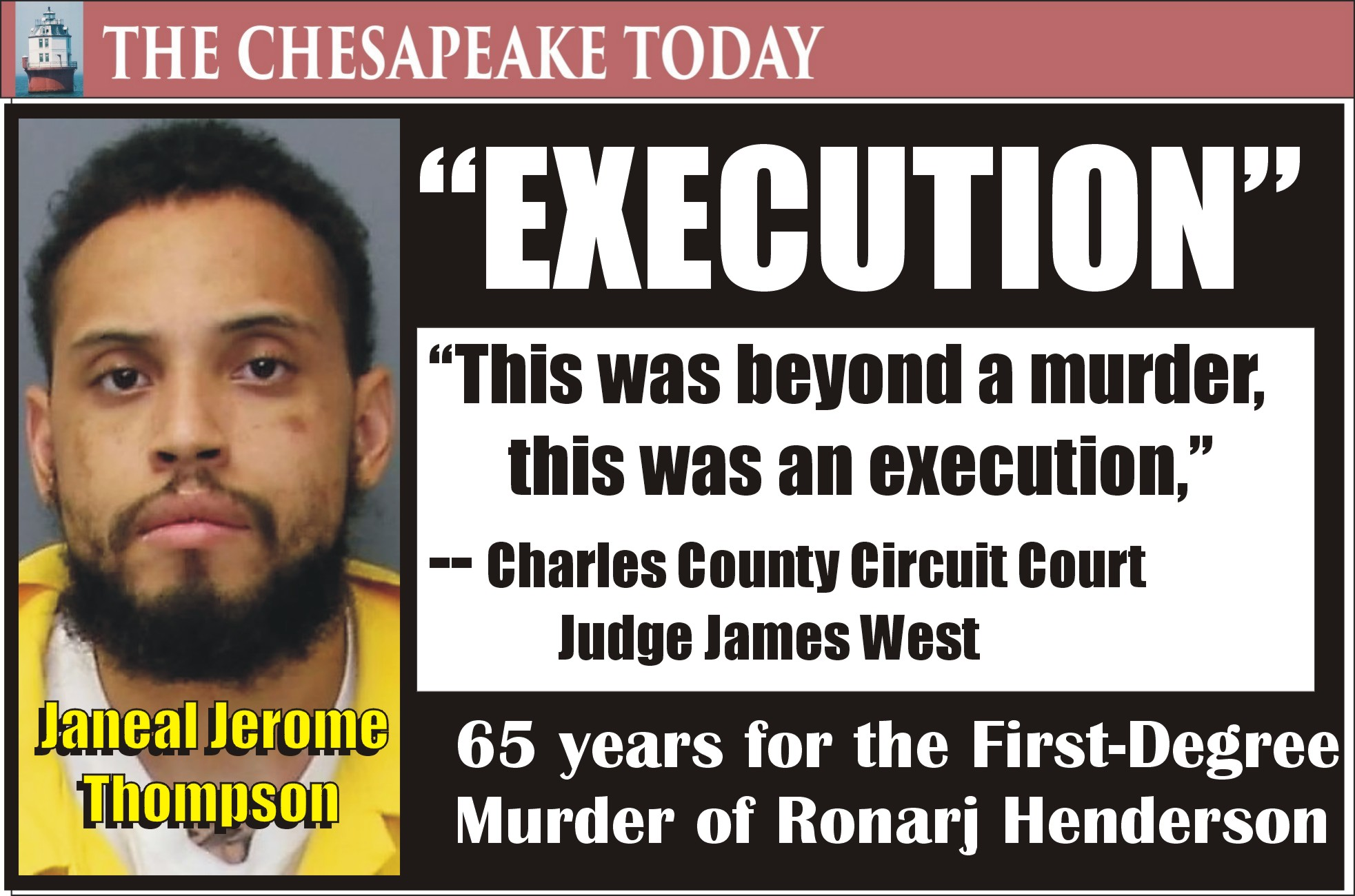 MURDER USA: Ronaj Henderson shot to death; UPDATE – Janeal Thompson convicted, will go back to prison for decades