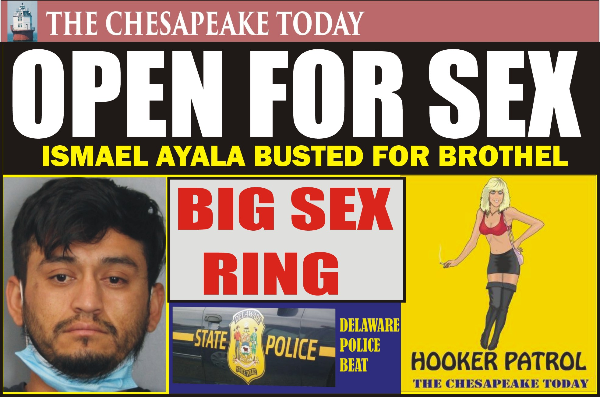 BROTHEL BUST: Ismael Ayala charged with running brothel and sex-ring