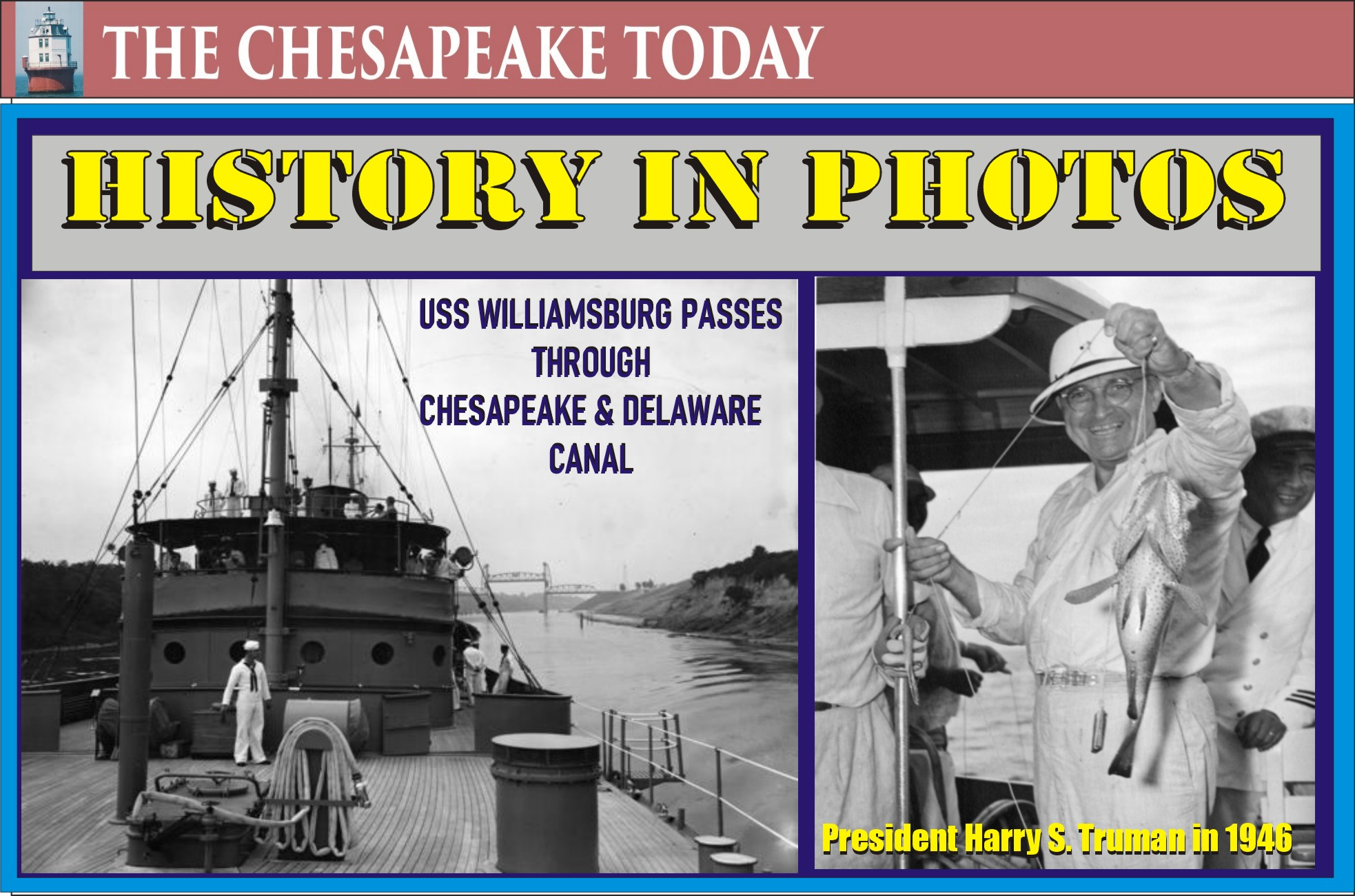 History in Photos: Presidential travel at sea; Harry S. Truman vacation to Bermuda from Washington, D.C.