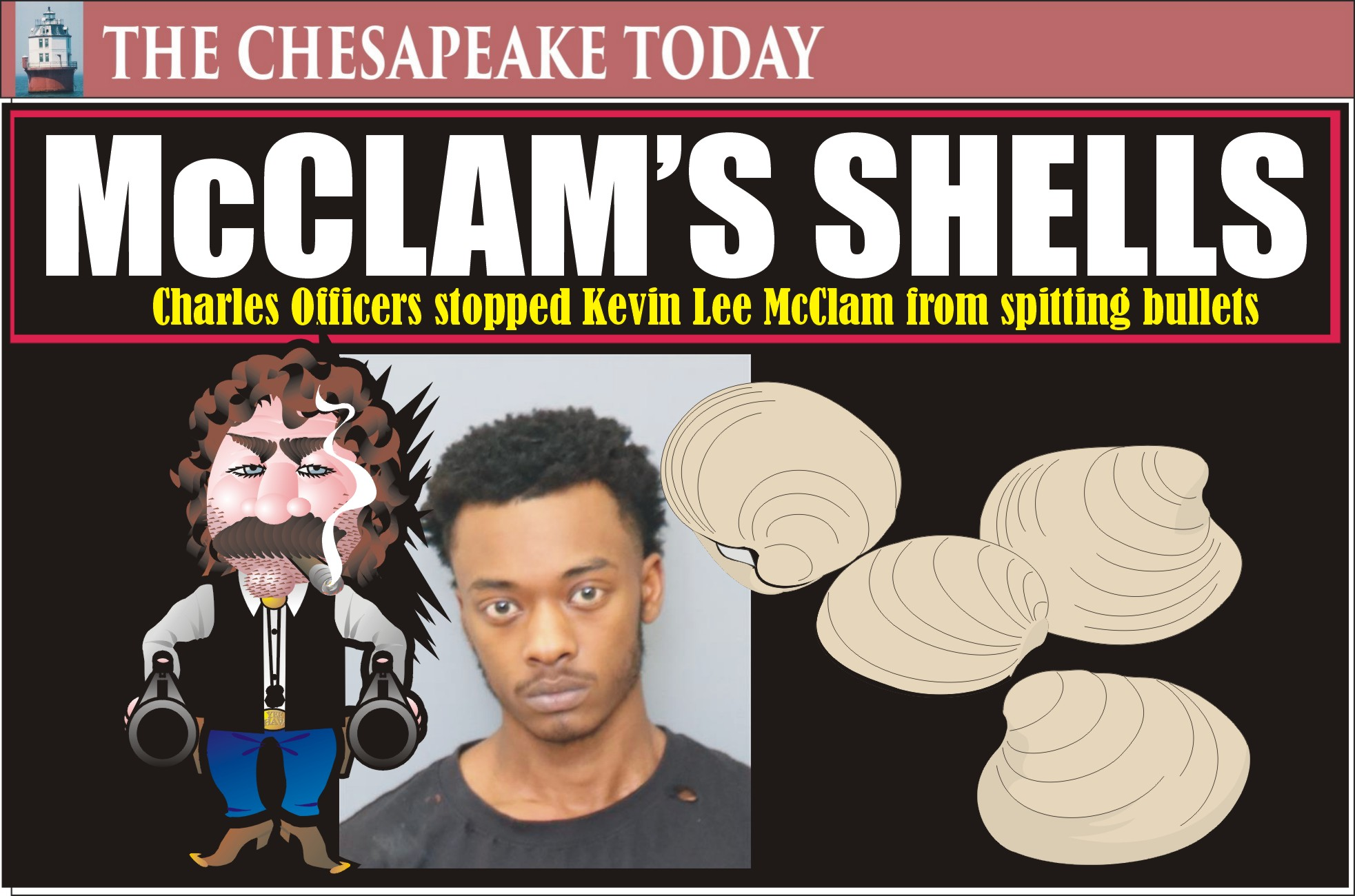 MURDER USA: Kevin Lee McClam climbed out of his shell with both guns spitting bullets