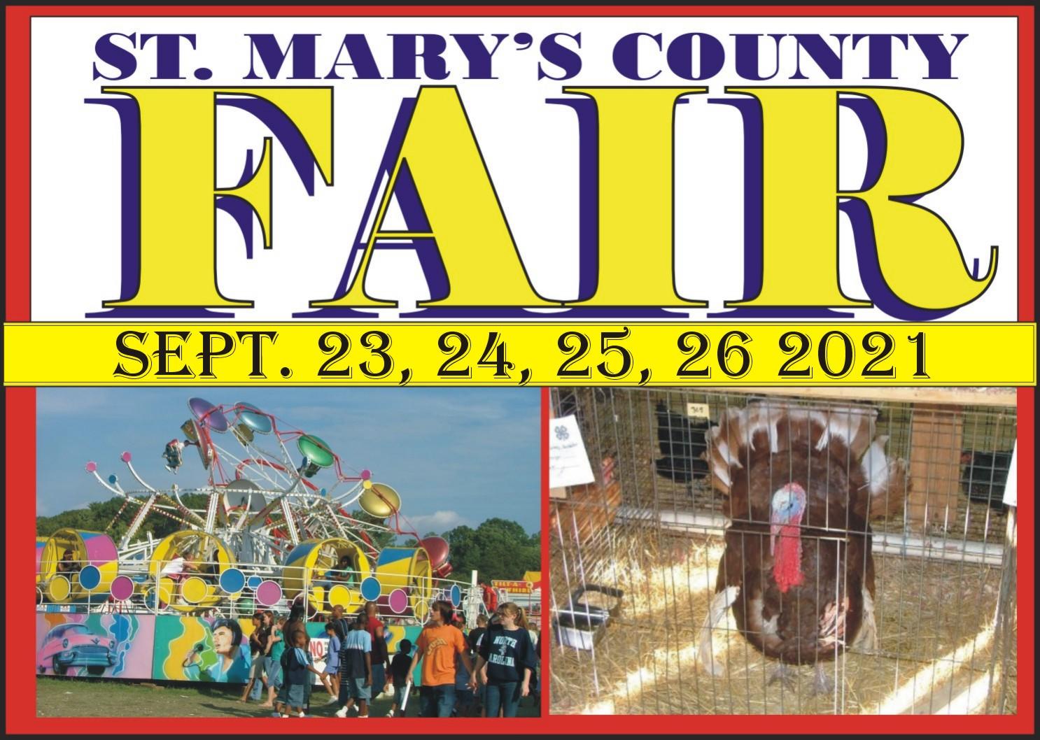 ST. MARY'S COUNTY FAIR PROGRAM 74TH ANNUAL FOR 2021