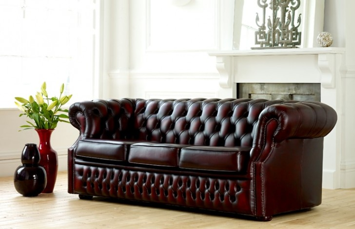 chesterfield sofa bed extra long table storage richmond leather beds