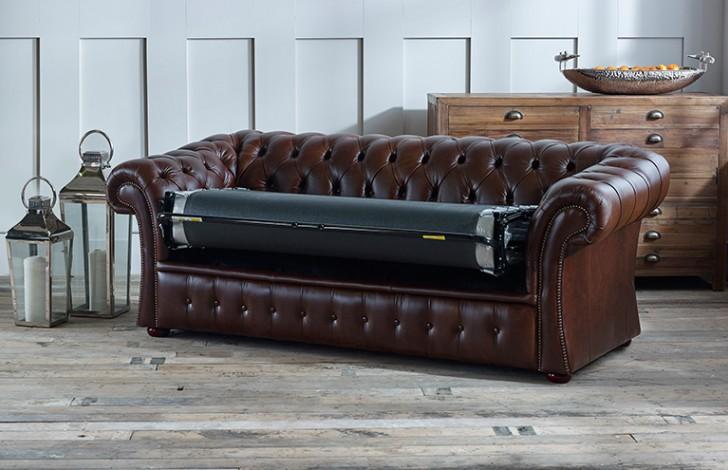 chesterfield sofa bed valencia leather set gladbury company