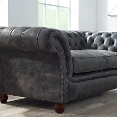 The English Sofa Company Uk Couch Covers For Sleeper Calvert Luxury Leather | Chesterfield