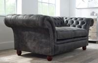 Calvert Luxury Leather Sofa   Chesterfield Company