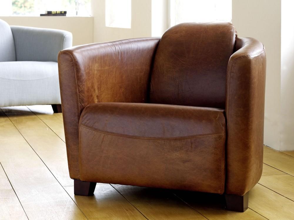 Brown Tub Chair Hudson Tub Chairs