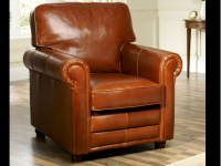 English Leather Armchair | Lancaster | Leather Armchairs