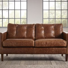 Brown Leather Sofa Uk Cleaners Nyc Cromer Small | The Chesterfield Company