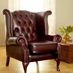 Chesterfield Leather Sofa For Sale Toddler Foam Flip Out Scroll Wing Vintage Armchair | Featured Product Blog