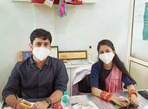 Successfully organized free eye and dental test camp in Soni Hospital, more than 1000 people took advantage