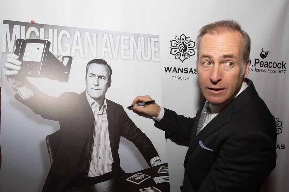 Bob Odenkirk celebrates Michigan Avenue magazine's Spring 2015 Issue at the Vertigo Sky Lounge in the dana hotel and spa, Chicago
