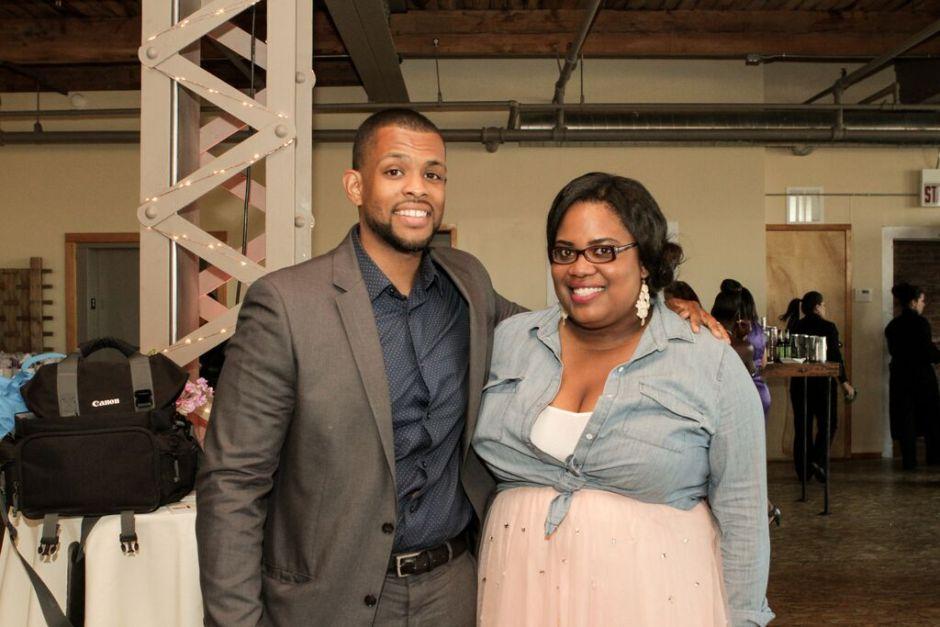 Founder Lauren Herndon and Richard Taylor Photo Credit: Rose Kaz of Rose Photo