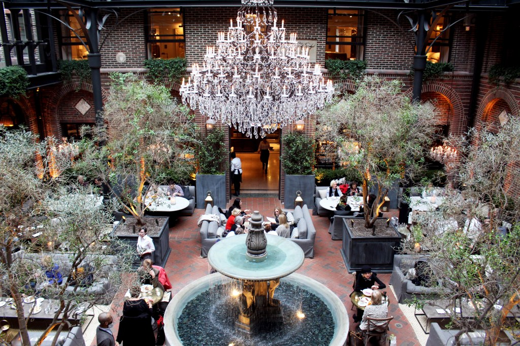 Restoration Hardware Cafe : The lap of luxury at restoration hardware s arts club