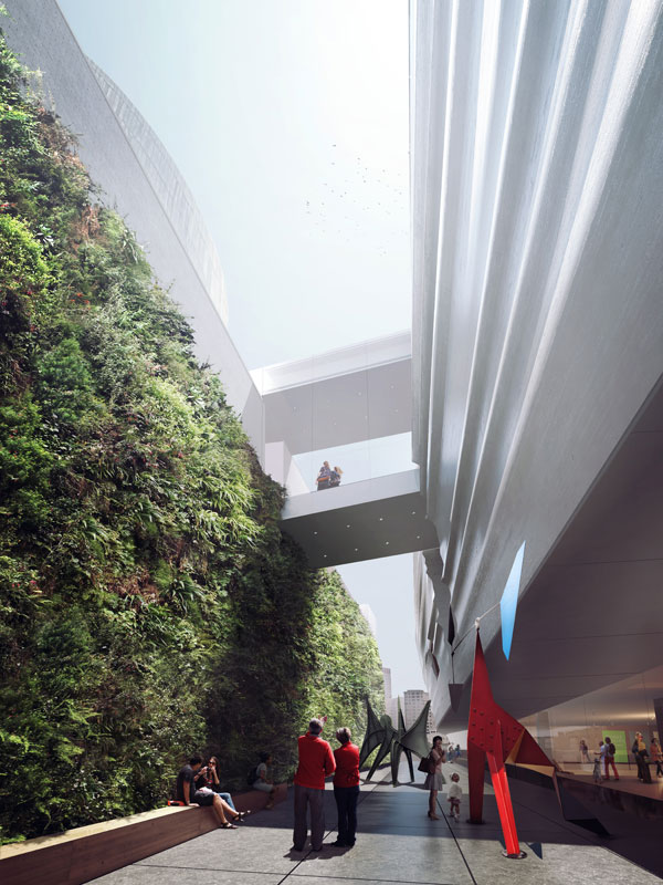 SFMOMA Expansion Plans include Green Living Wall