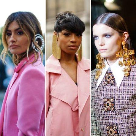 maxi orecchini GM Style Fashion week 2020