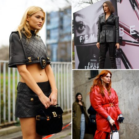 pelle leather tendenza gmstyle the chic jam fashion week