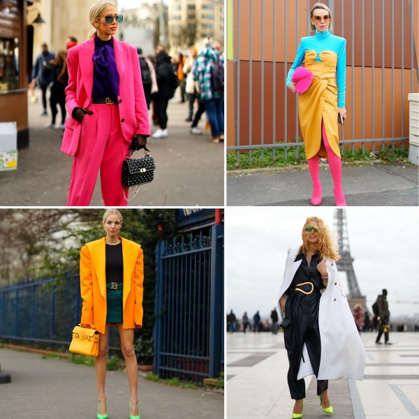 fluo colorblock outfit look the chic jam gmstyle