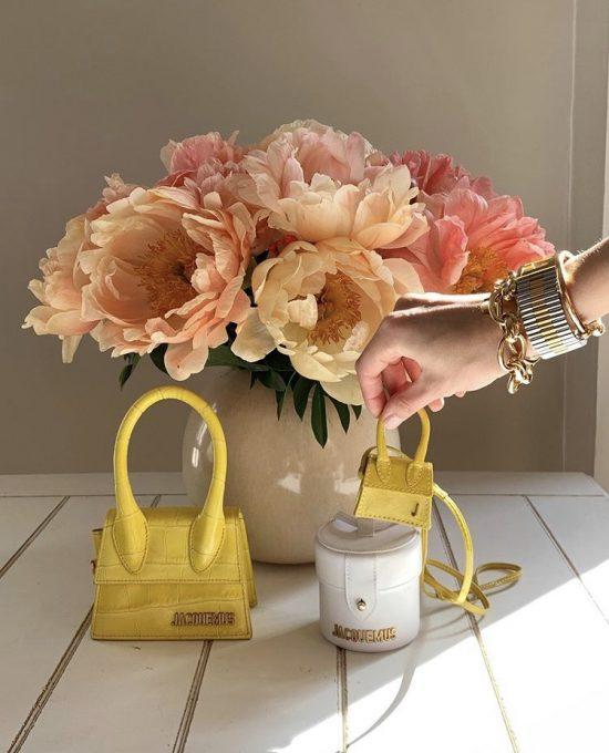 Mini bag Jacquemus - pic by Leonie Hanne via Instagram