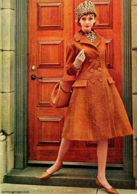 Cappotto anni '60 vintage the chic jam