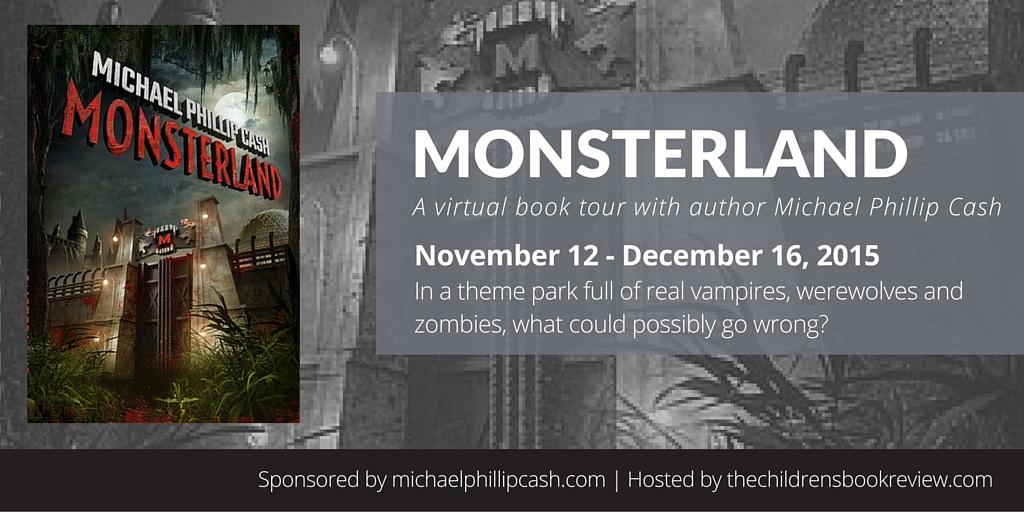 Monsterland Blog Tour Header Image