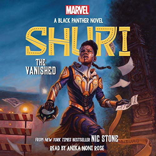 THE VANISHED- Shuri- Black Panther Book 2