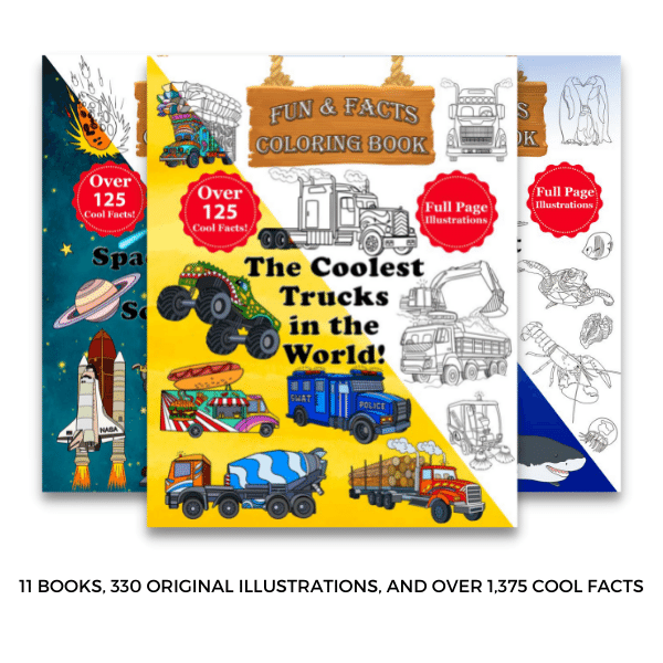 Fun Facts Coloring Books