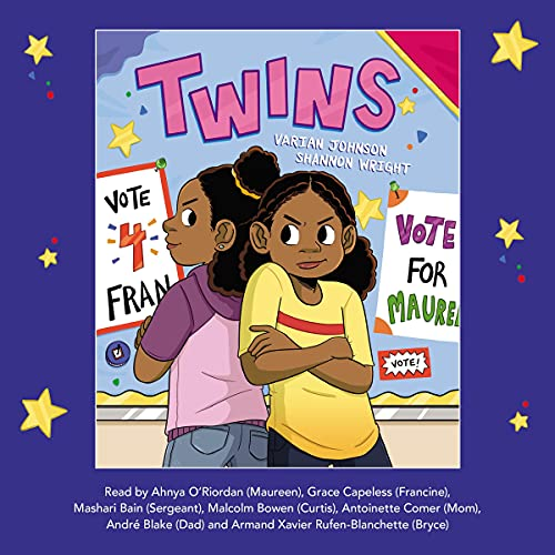TWINS by Varian Johnson Audiobook