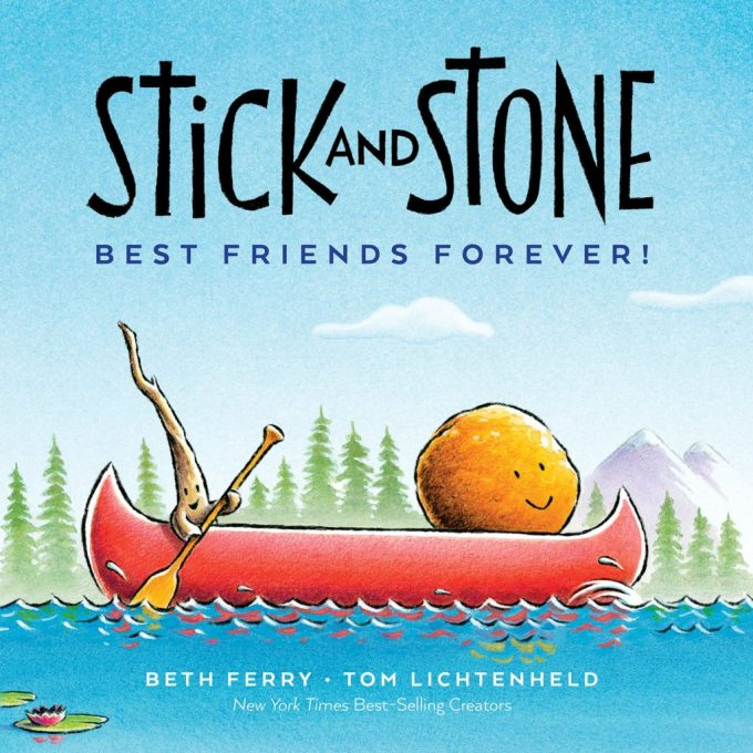 Stick and Stone Best Freinds Forever