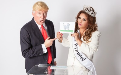 Miss Wynwood Oficially Starts White House Run